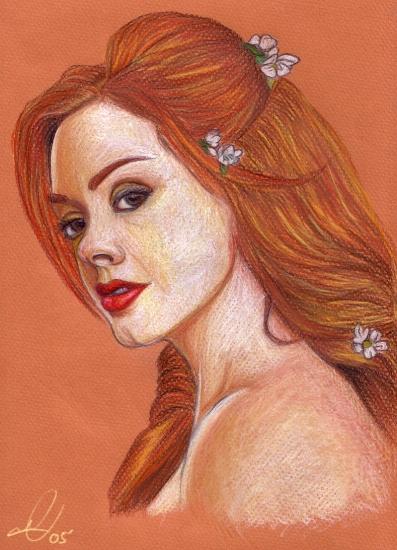 Rose McGowan by LittleSinner
